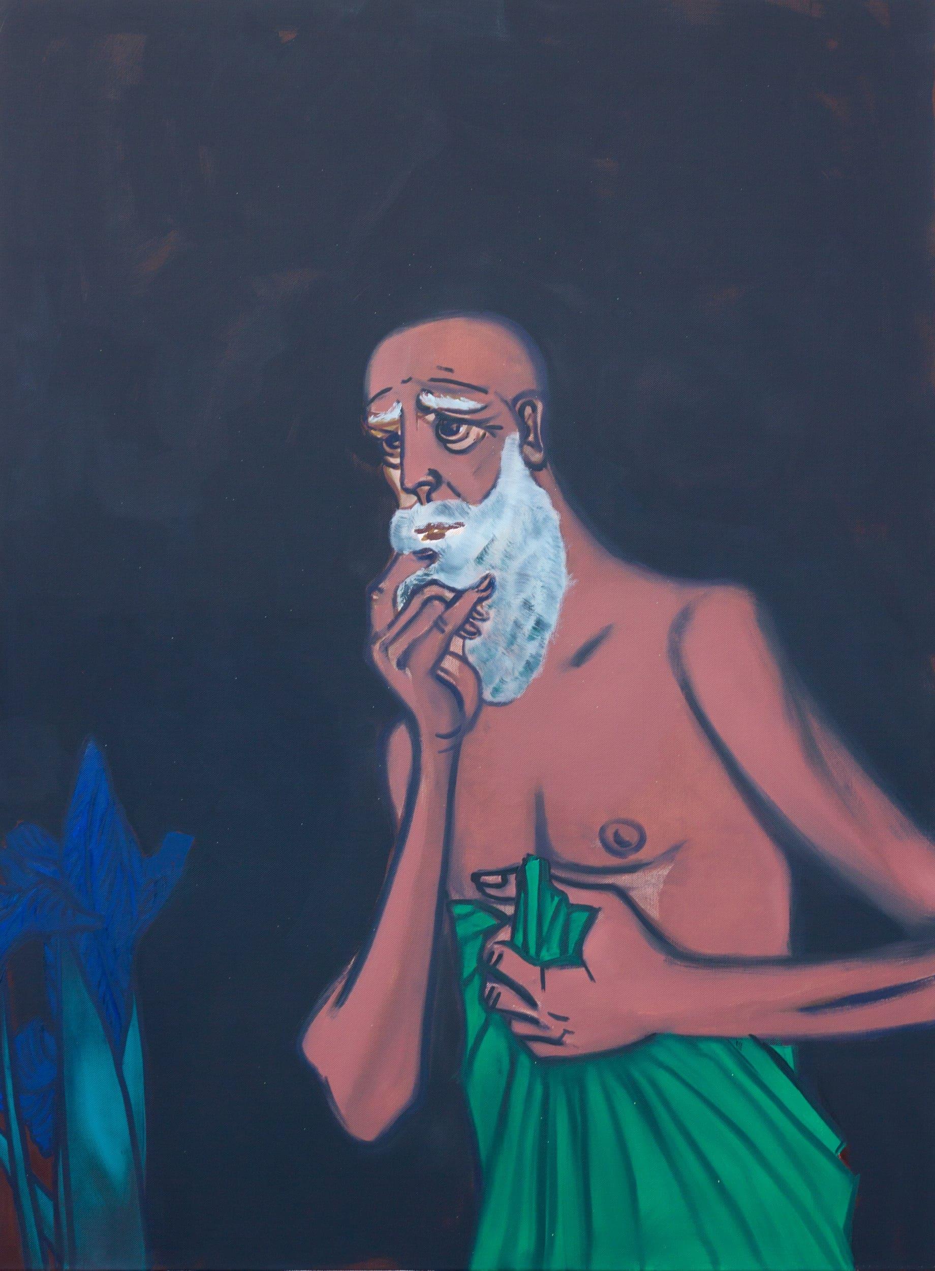 Hubert Schmalix Oil on canvas Smolka Contemporary