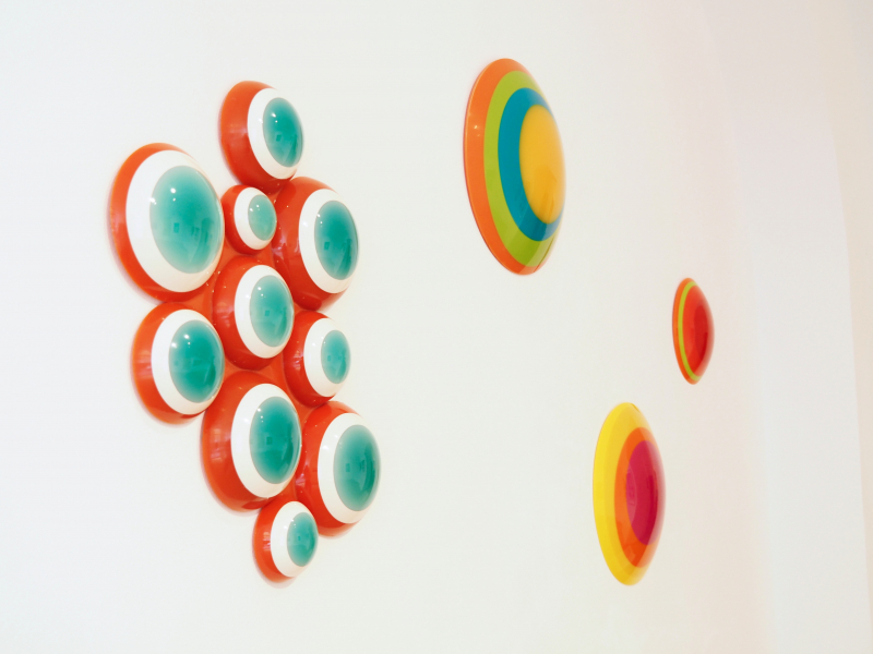 Uta Weber Cloud Swinging Circles Smolka Contemporary