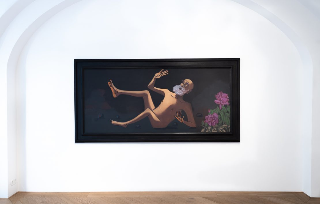 Hubert Schmalix steve painting Smolka Contemporary