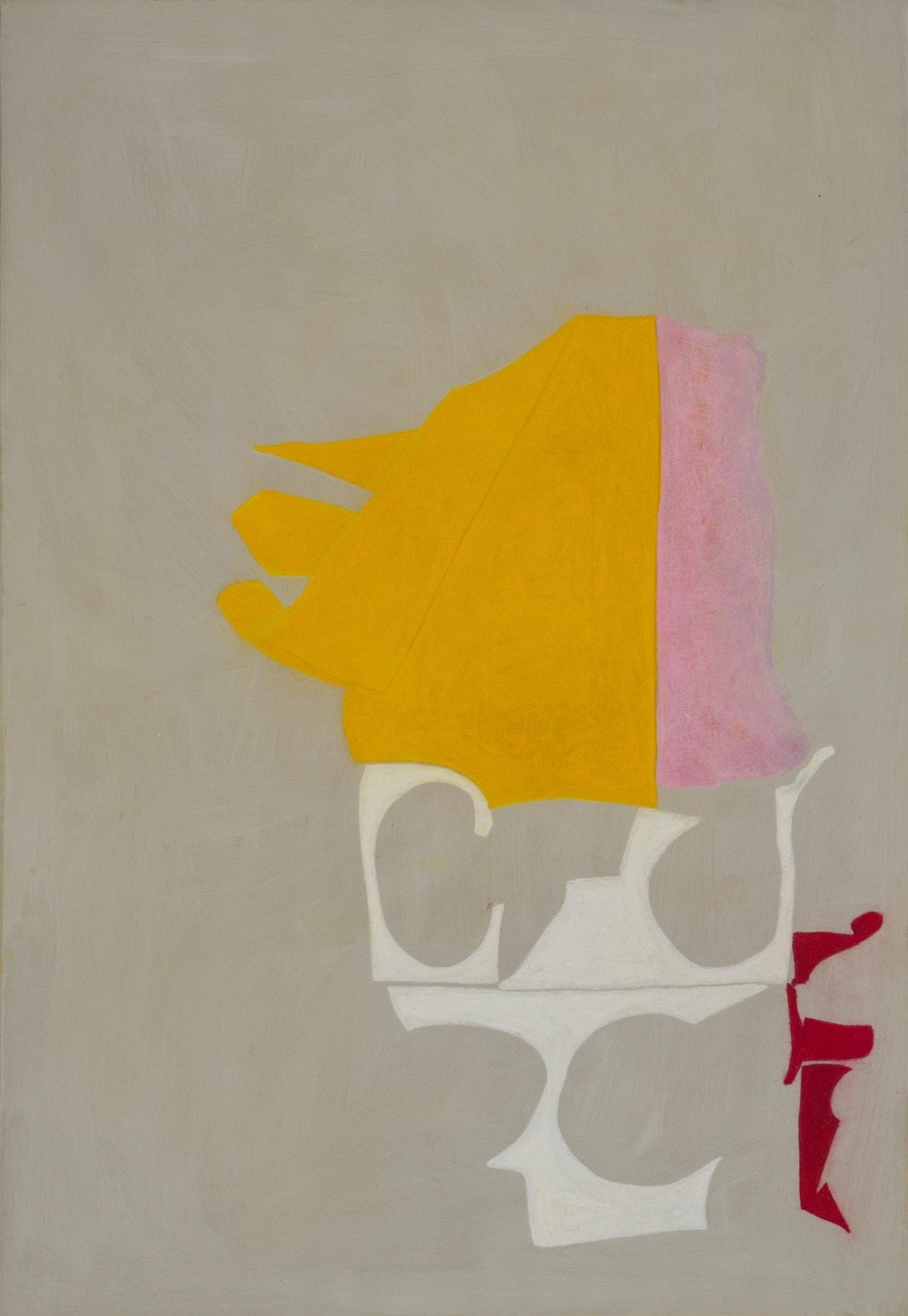Frenzi Rigling Smolka Contemporary Pastell auf Papier