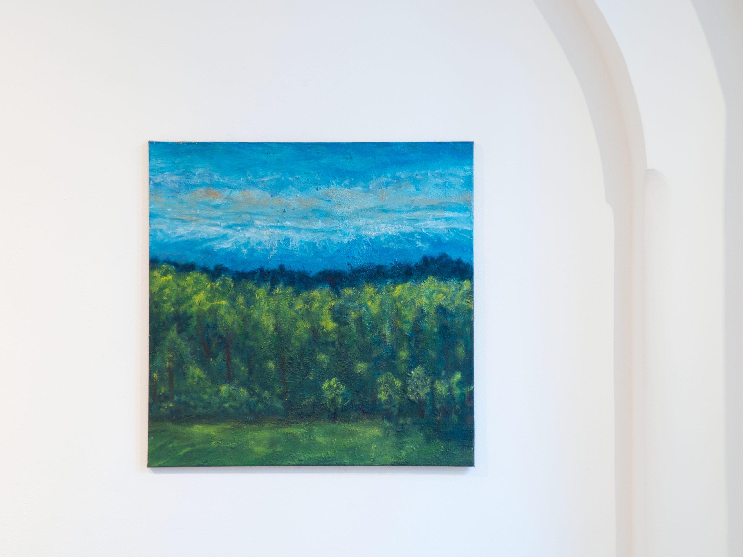 Ferdinand Melichar Smolka Contemporary Wald Landscape