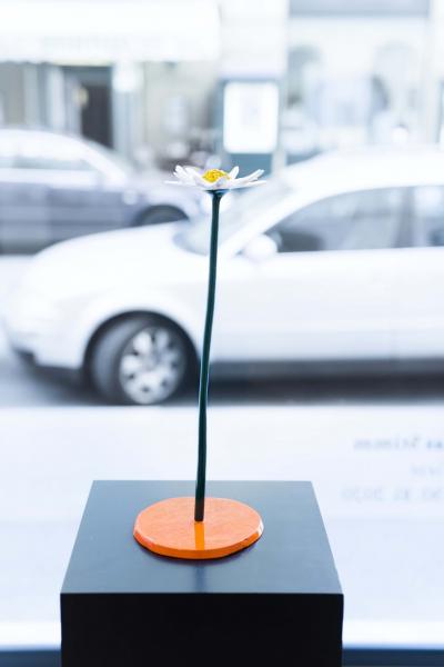 Thomas Stimm Blume / 2020, Bronze lackiert