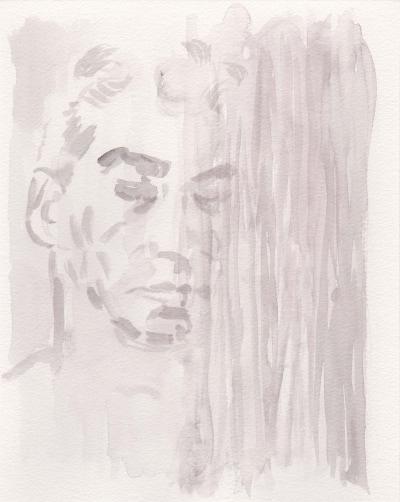 Siegfried, 29x24, Aquarell auf Papier, 2018